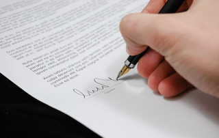 Signing a Business Telephone Service Contract