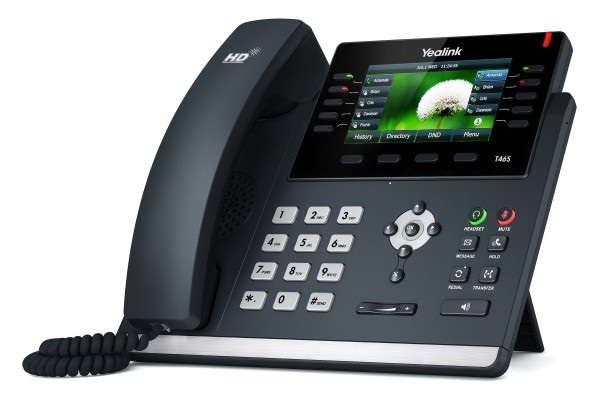 Right first time Business Phone Systems - Yealink T46S Desk Phone