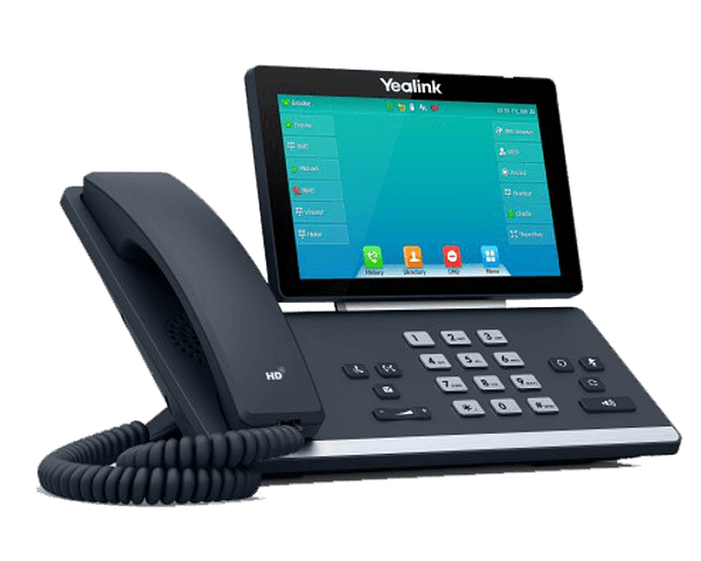 Yealink T57W Touchscreen Phone with Built-In WiFi